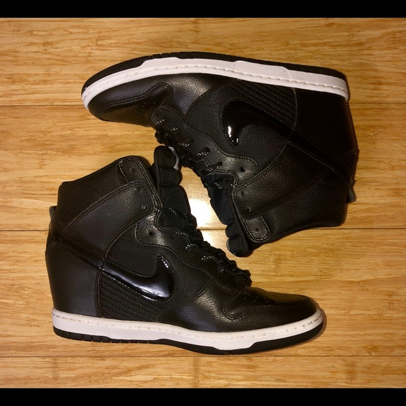 97f59c287fb3 Nike Lace up high top wedges. M 5c64c7a012cd4a70556a3e74